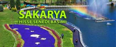 sakarya - Sakarya Hisse Senedi Basımı