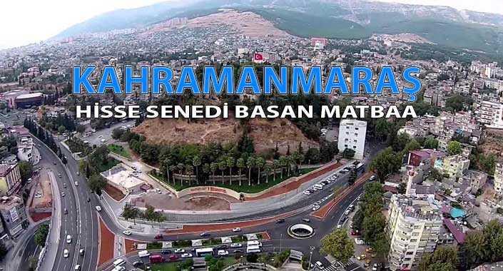 kahramanmaras - Kahramanmaraş Hisse Senedi Basan Matbaa Hisse Senedi Basımı