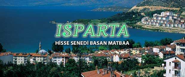 sparta - Isparta Hisse Senedi Basımı hisse senedi basan matbaa