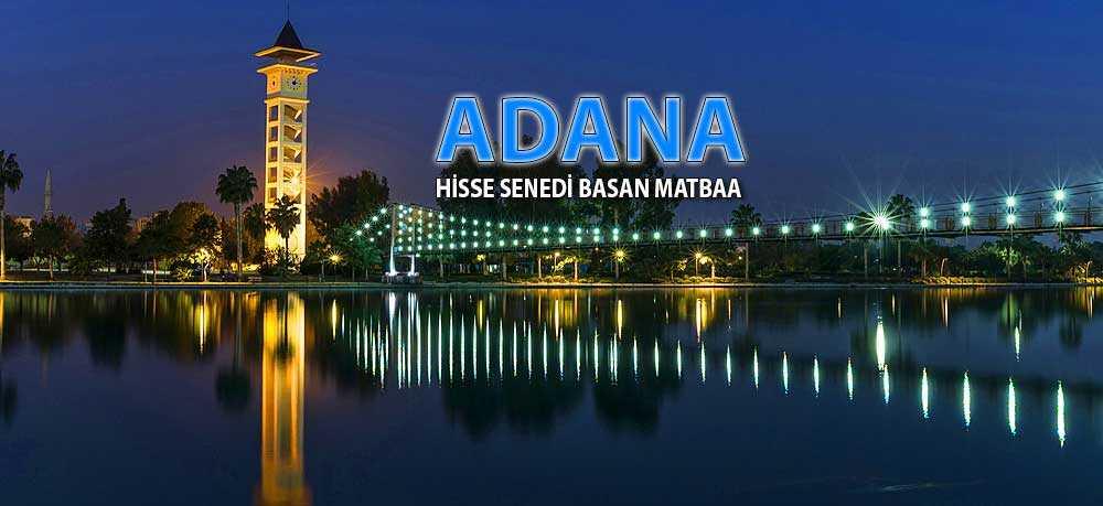 adana - Adana Pay Hisse Senedi Basımı Hisse Senedi Basan Matbaa