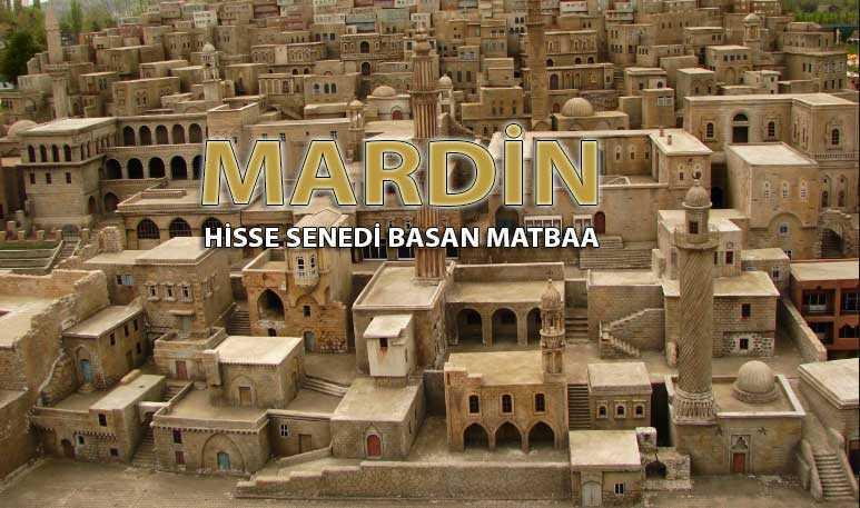 mardin pay senedi - Mardin Hisse Senesi Basan Matbaa Mardin Hisse Senedi Basımı