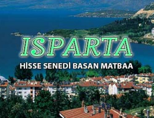 Isparta Hisse Senedi Basımı hisse senedi basan matbaa